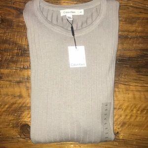 Calvin Klein Men's Long Sleeve Light L Sweater